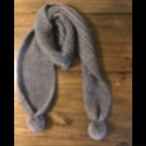 Accessories - Charcoal Grey Scarf